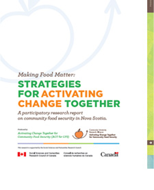 Graphic - Make Food Matter research report cover