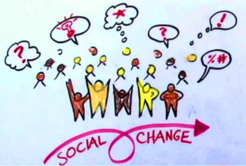 my vision for social change