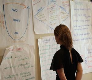 Photo - woman looking at chart