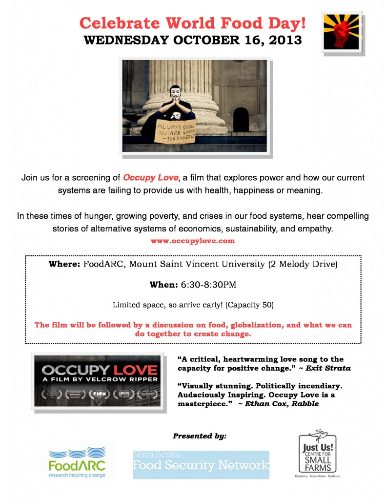 occupy-love, events, halifax