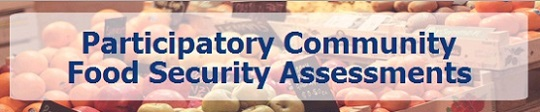 Participatory Community Food Security Assessments