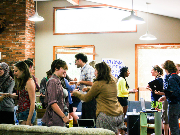 Delegates Connect at 2014 National Student Food Summit
