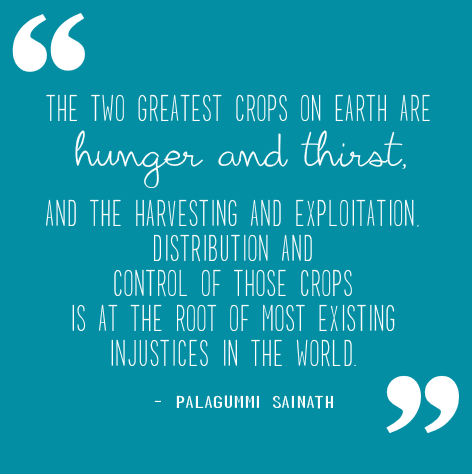 Quote from Palagummi Sainath