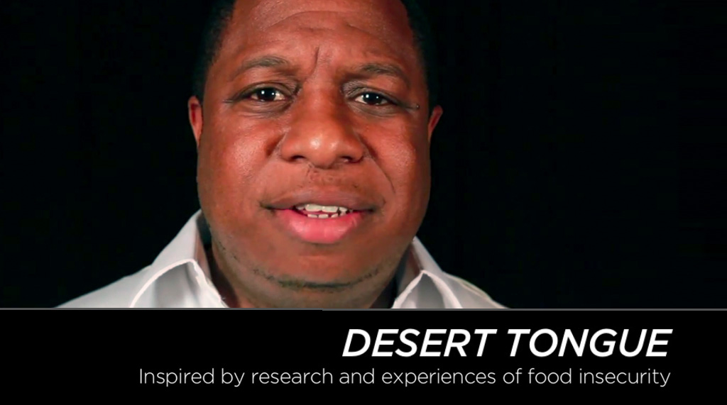 Photo - Desert Tongue: Inspired by research and experiences of food insecurity