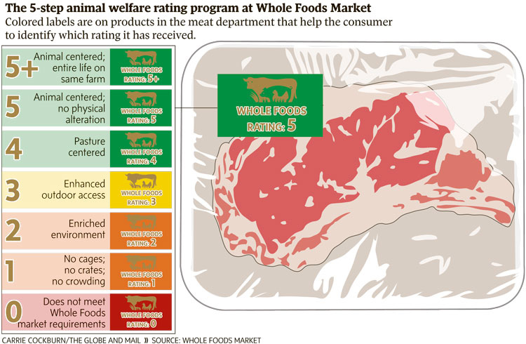 Supermarket Adopts Animal Welfare Standards For Meat In Canada