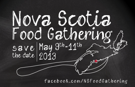 Nova Scotia Food Gathering
