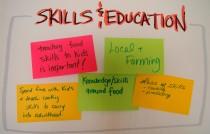 Skills and education