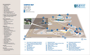 Graphic - MSVU campus map