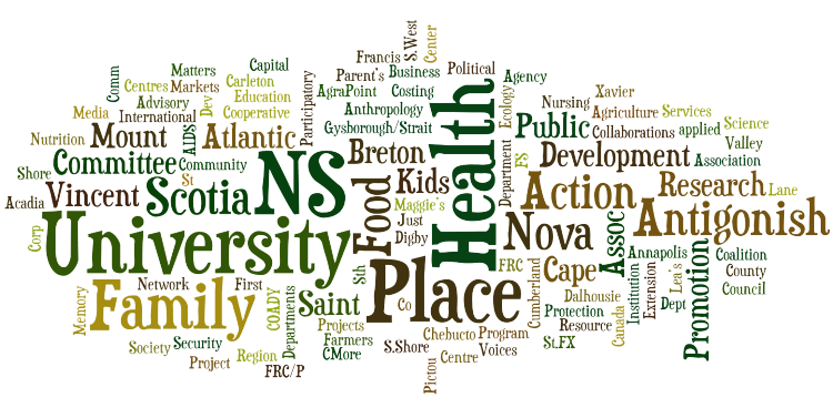 Graphic - ACT for CFS Partner Wordle