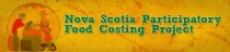 Participatory Food Costing Project web banner