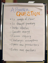 Photo - what is a powerful question