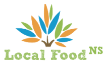 Graphic - Local Food NS' logo