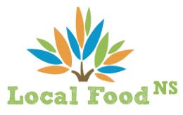 Graphic - Local Food NS' logo