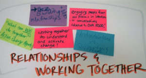 Relationships and working together