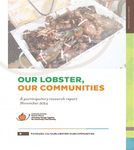 Report cover - Our Lobster, Our Communities