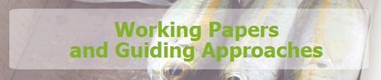 Graphic banner - Working Papers and Guiding Approaches