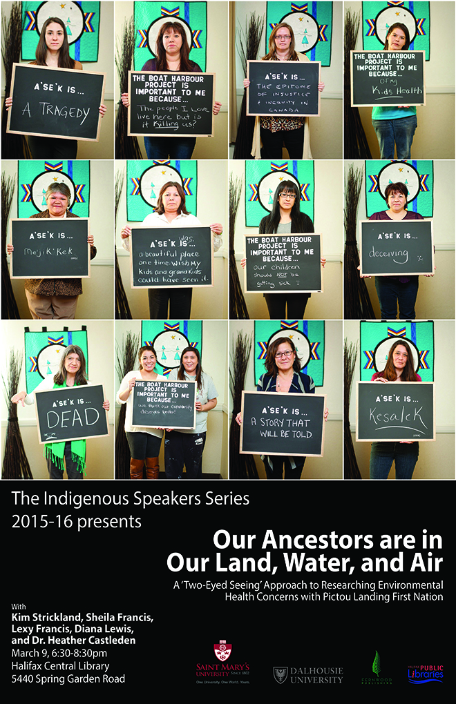 Poster - Our Ancestors are in Our Land, Water and Air