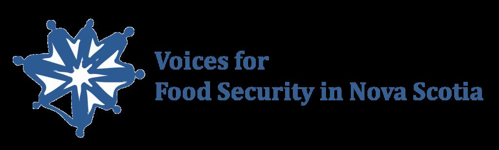 Wordmark - Voices for Food Security in Nova Scotia
