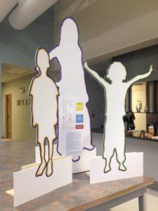 Photo - Life-size family models