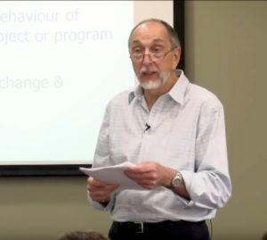 Outcome Mapping facilitator Terry Smutylo