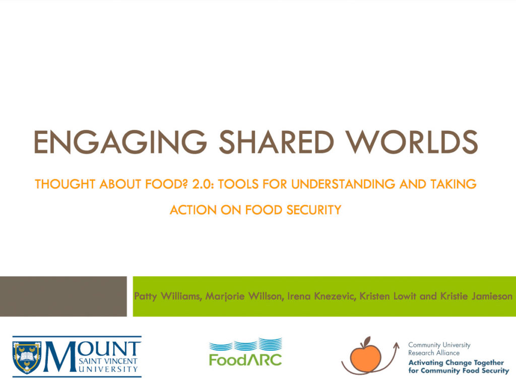 Presentation cover - Engaging Shared Worlds