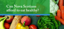 Event banner - Can Nova Scotian's afford to eat healthy?
