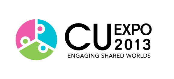 Logo - CU Expo 2013 - Engaging Shared Worlds