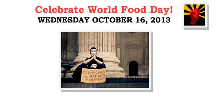 Celebrate World Food Day 2013!