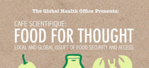 Cafe Scientifique: Food for Thought - Local and Global Issues of Food Security and Access.