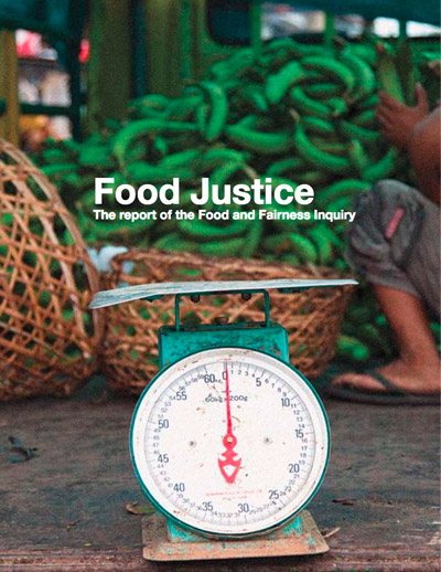 Food Justice: The report of the food and fairness inquiry – Food Ethics Council.