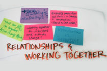 Stickies - Relationships & Working together