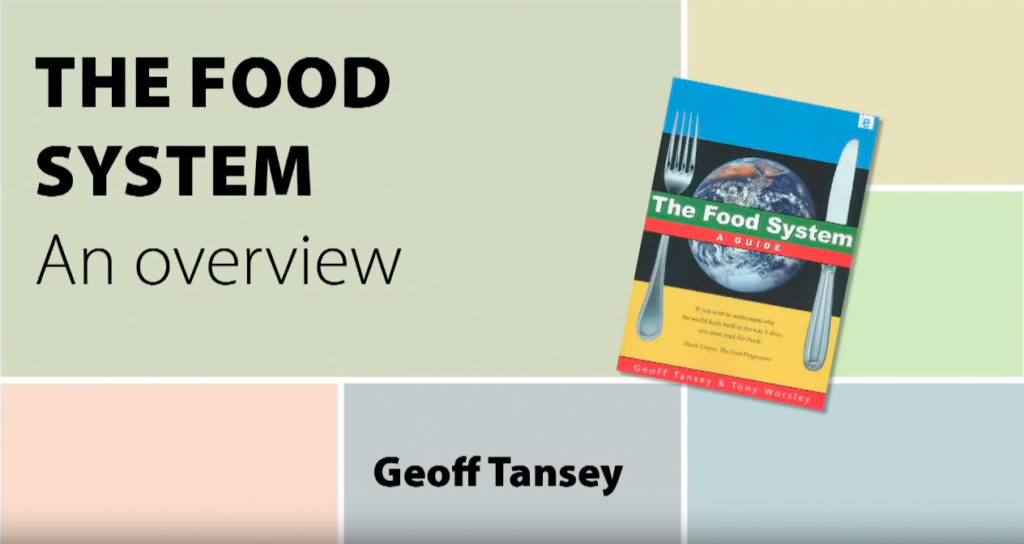 The Food System - An Overview - Geoff Tansey