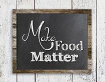 Make Food Matter logo