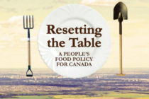 Resetting the Table - A People's Food Policy for Canada.