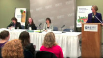 Photo - Media release of the 2010 NS Participatory Food Costing report at MSVU