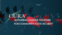 Graphic - CURA: Activating Change Together for Community Food Security.