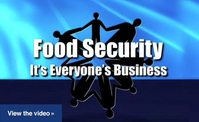 Food Security: It's Everyone's Business DVD