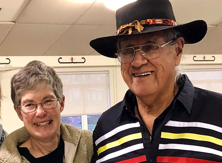 Dr. Cheryl Bartlett and Elder Albert Marshall